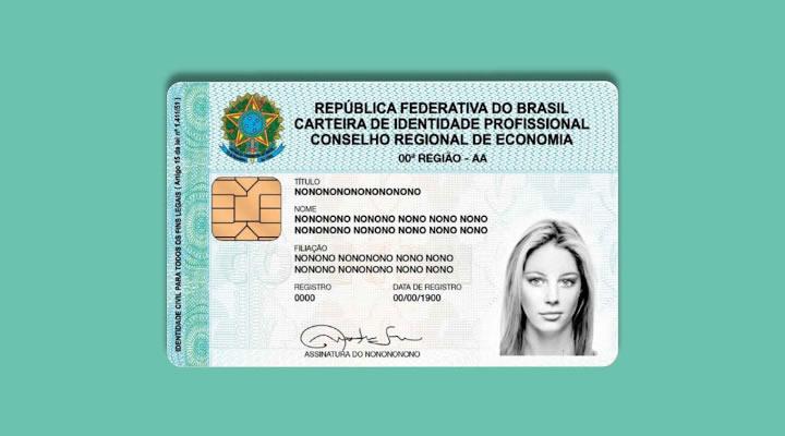 A Carteira de Identidade de Economista substitui o RG?